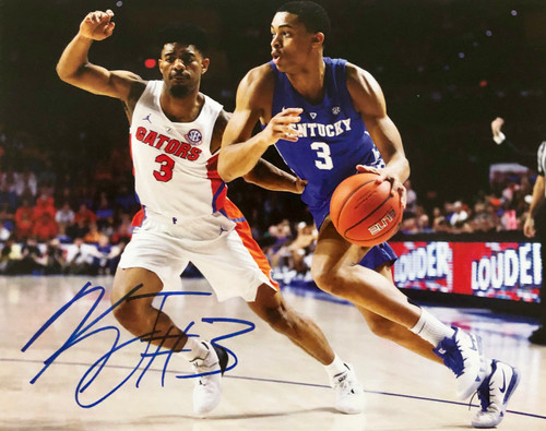 KELDON JOHNSON signed 8x10