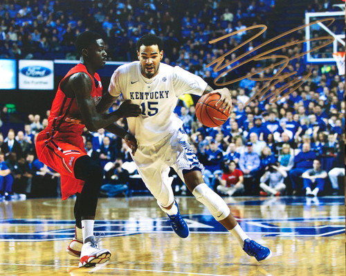 Wille Cauley-Stein signed 8x10