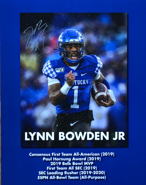 Lynn Bowden Jr 11x14 signed