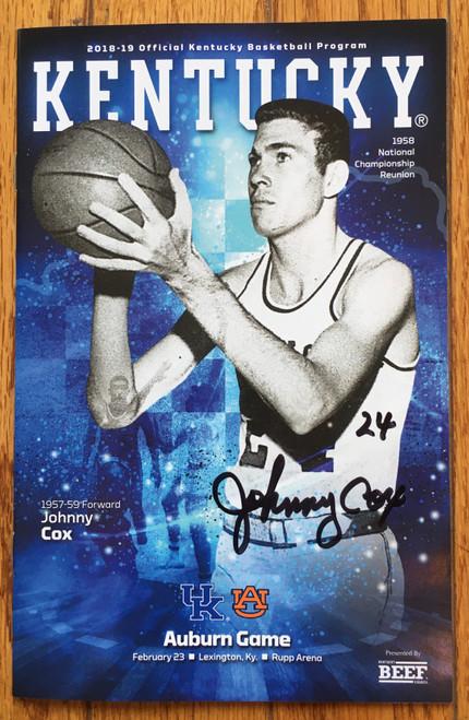 Johnny Cox program