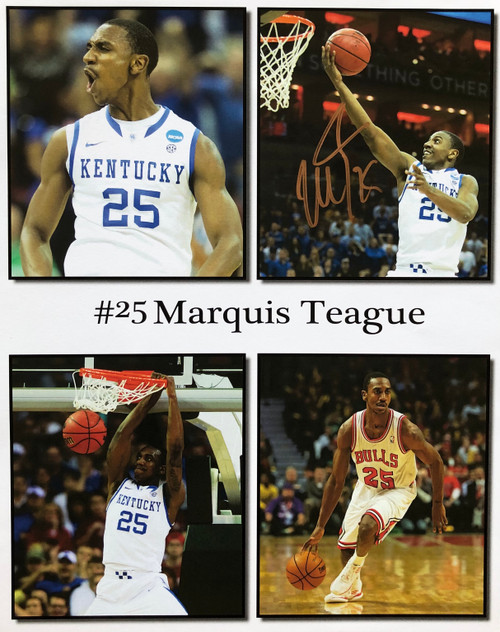 Marquis Teague 11x14 signed print