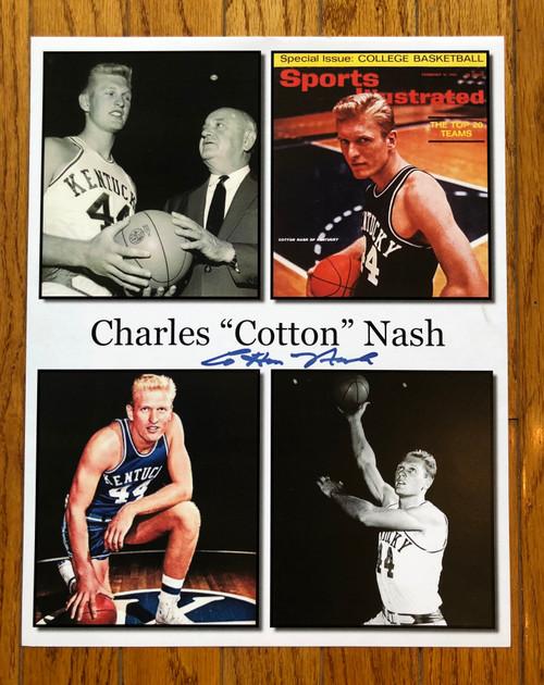 "Charles ""Cotton"" Nash signed 11x14"