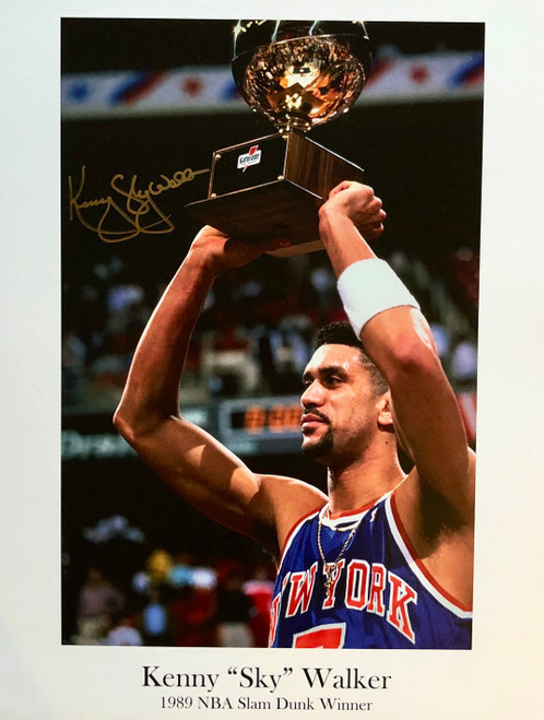 "Kenny ""Sky"" Walker New York Knicks  11x14 $10.00"