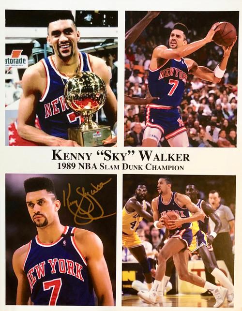 "Kenny ""Sky"" Walker 11x14 signed"