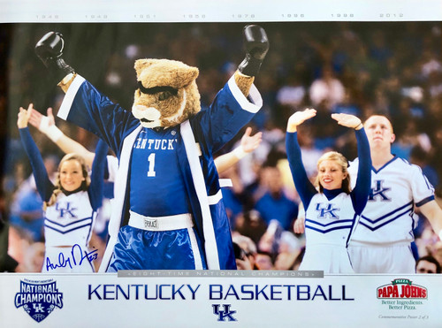 Unibrow Wildcat Signed