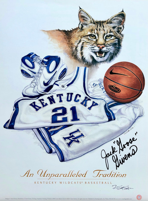 """12 x16 hand signed by Jack """"Goose Givens"""