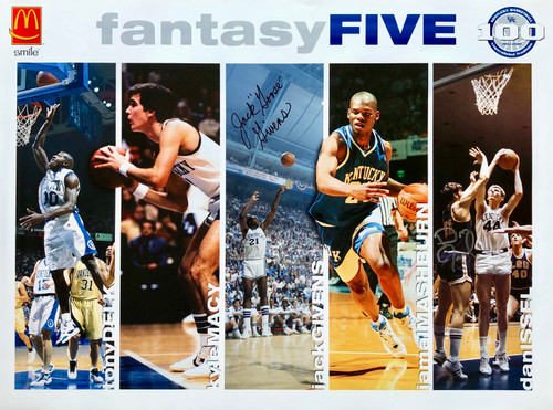 "Fantasy Five signed Jack ""Goose"" Givens and Dan Issel"