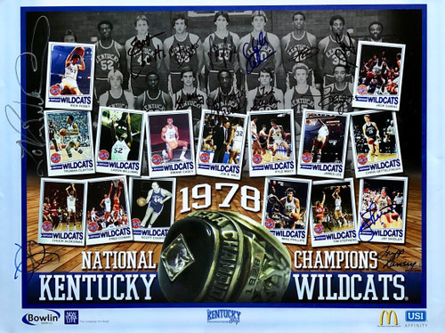 1978 National Champions Team Signed
