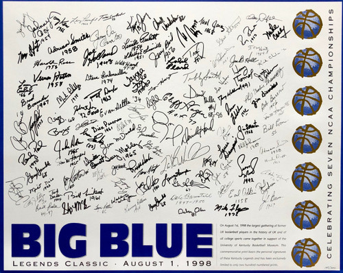 Big Blue Legends Classic
