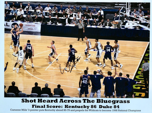 Shot Heard Across the Bluegrass signed Wayne Turner