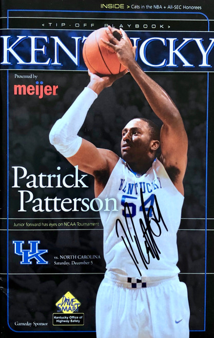 Kentucky Tip Off Program signed Patrick Patterson
