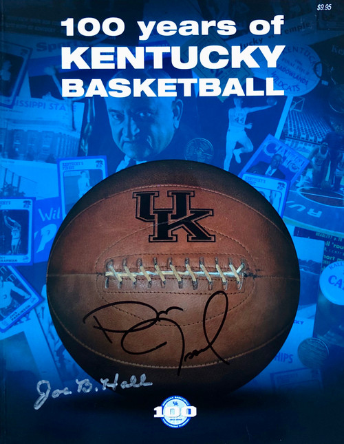 100 Years of Kentucky Basketball signed: Joe B. Hall and Dan Issel