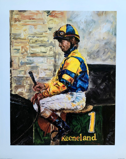Pat Day Keeneland 16x20