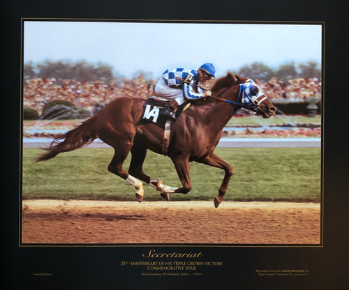 Secretariat 25th Anniversary of his Triple Crown Victory