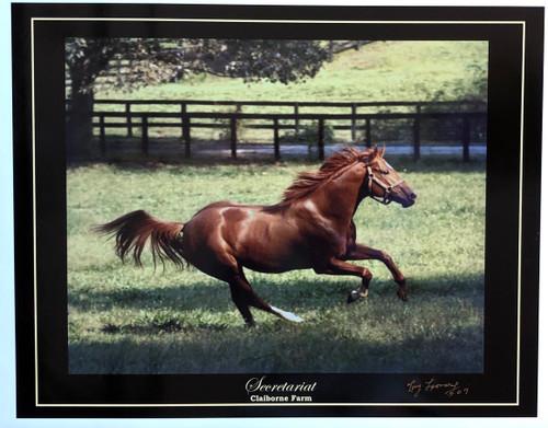 Secretariat Claiborne Farm 24x18.5 $50.00