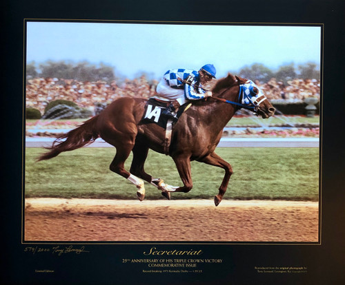Commemorative Issue of Secretariat 25th Anniversary of his Triple Crown Victory
