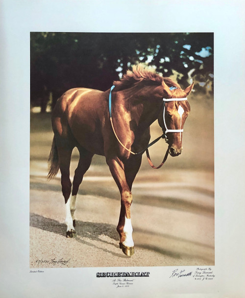 "20""W x 24""H signed/numbered by: Ron Turcotte and Photographer Tony Leonard with Certificate of Authenticity"