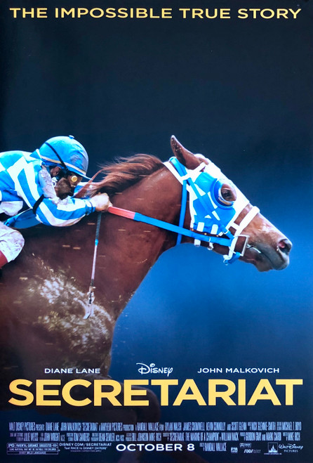The Impossible True Story Secretariat movie poster