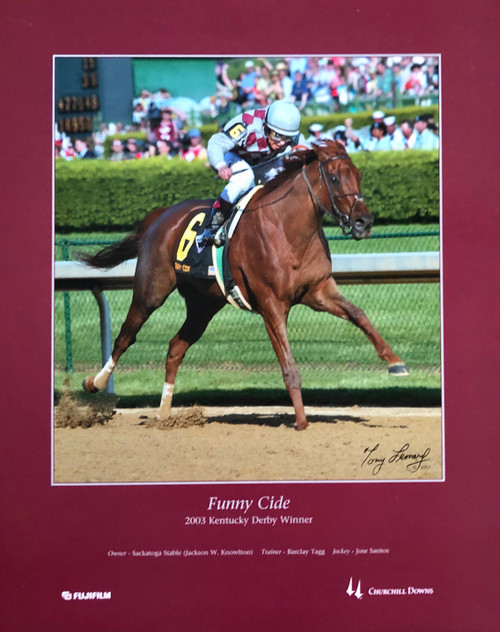 Funny Cide 2003 Kentucky Derby Winner