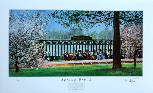 Spring Break signed and numbered print by artist Mary Nickell