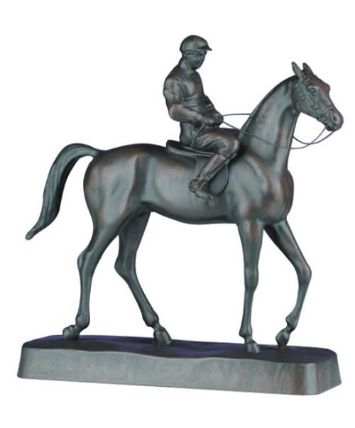 Jockey on Horse 10x10