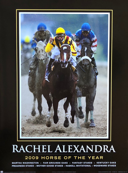 Rachel Alexandra 2009 Horse of the Year