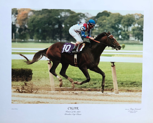 Cigar winner of the 1995 Breeders Cup Classic