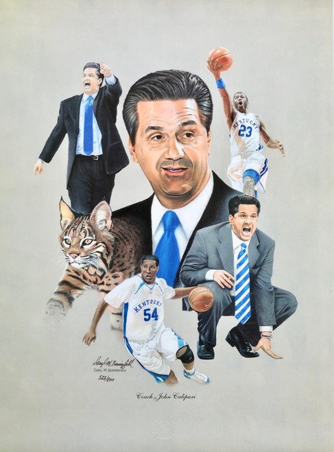 Coach John Calipari $55.00