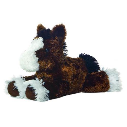"Clydes Mini Flopsie Horse 8"" 8W x 7.5H"
