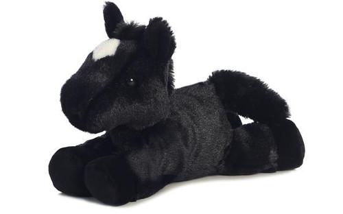"""""""Beau"""" Mini Flopsie Horse  8W x 7.5H"""