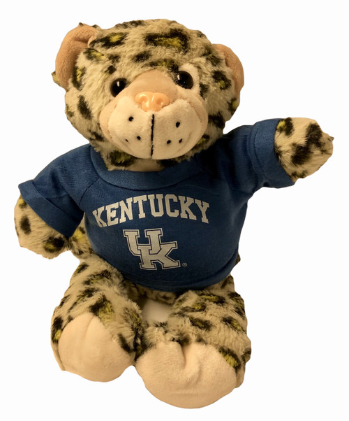 """Yellow Spotted Wildcat with Kentucky UK Jersey 11.5"""""""