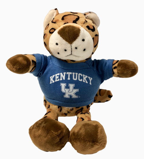 """Leopard"" Wildcat 10"" with Kentucky UK Jersey"