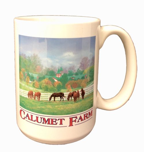 Calumet Farm Coffee Mug 3.25W x 4.5H