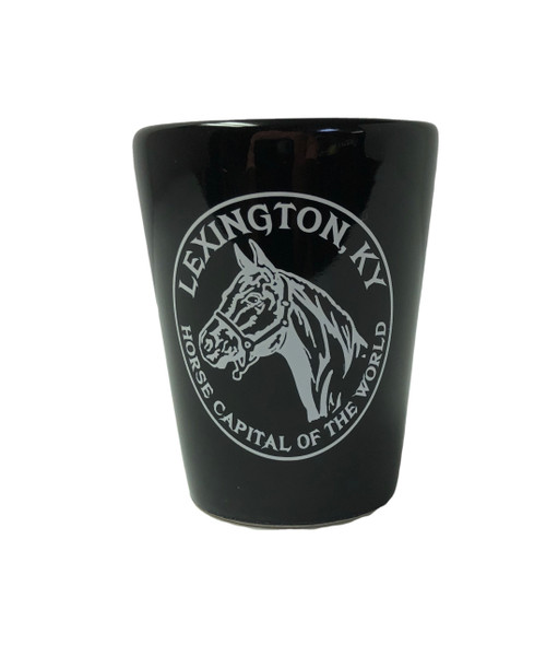 LEXINGTON, KY Horse Head Shot Glass