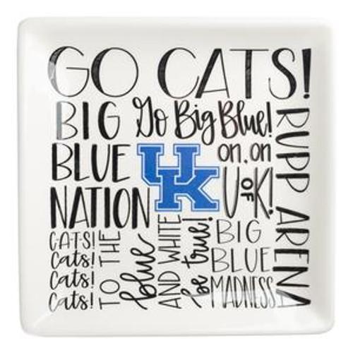 """5""""W x 5""""H Kentucky Fan Trinket Tray"""
