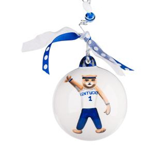 4x4x4 Wildcat/Go Big Blue Ornament