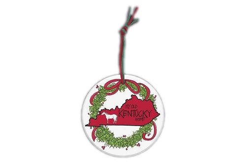 """4""""W x 4""""H ornament"""