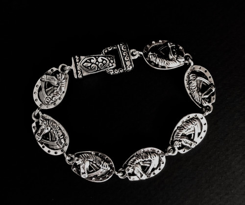 """7.75"""" in length lead free bracelet with magnetic clasp"""