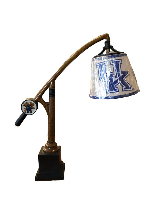 "26"" lamp with UK logo shade"