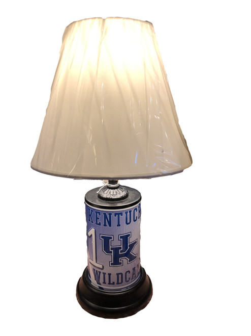 """18.5"""" tall with lamp shade and 8"""" cord"""