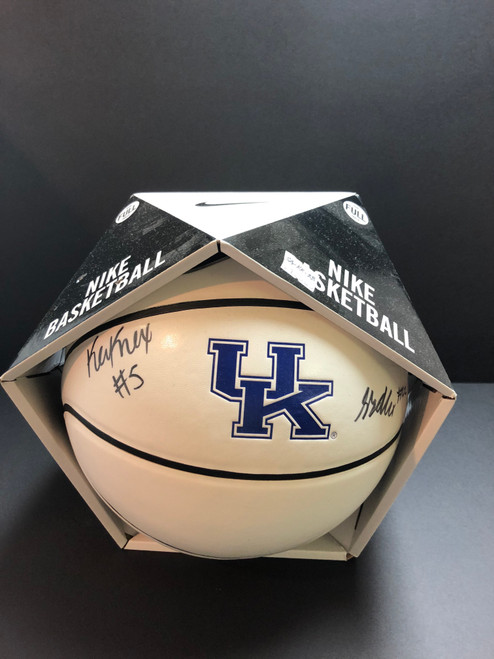 Signed Kevin Knox and Shai Alexander with Authenticity