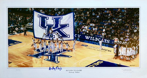 Signed Anthony Davis includes Certificate of Authenticity
