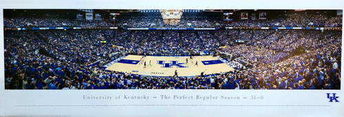 With victory over Florida, Kentucky clinched 46th SEC regular season championship undefeated.