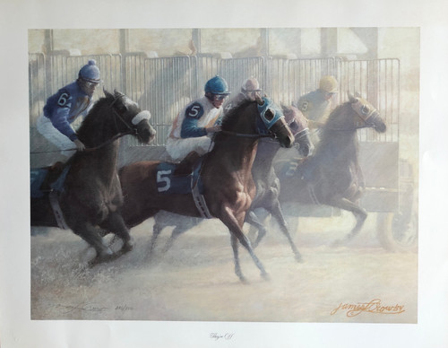 Signed and Numbered by Artist James Crow with Certificate of Authenticity