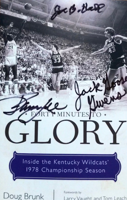 """Signed By: Joe B Hall, James Lee, and Jack """"Goose"""" Givens with Certificate of Authenticity"""