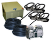 Kasco Robust Aire RA2 Pond and Lake Aeration System with  Air Compressor Cabinet