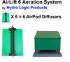 Pond Aerator and Pond Aeration System by Hydro Logic