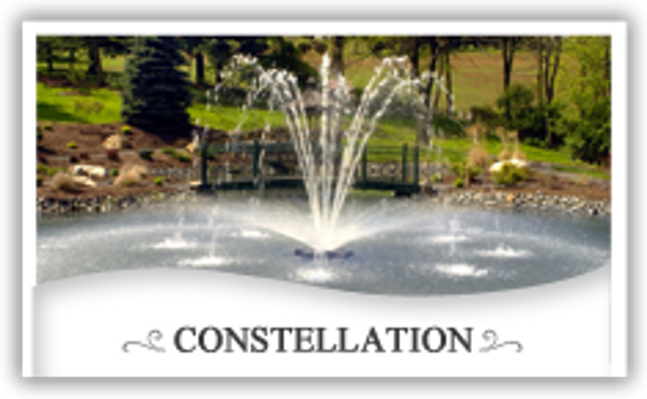 Otterbine Fountains and Otterbine Aerating Fountains Constellation
