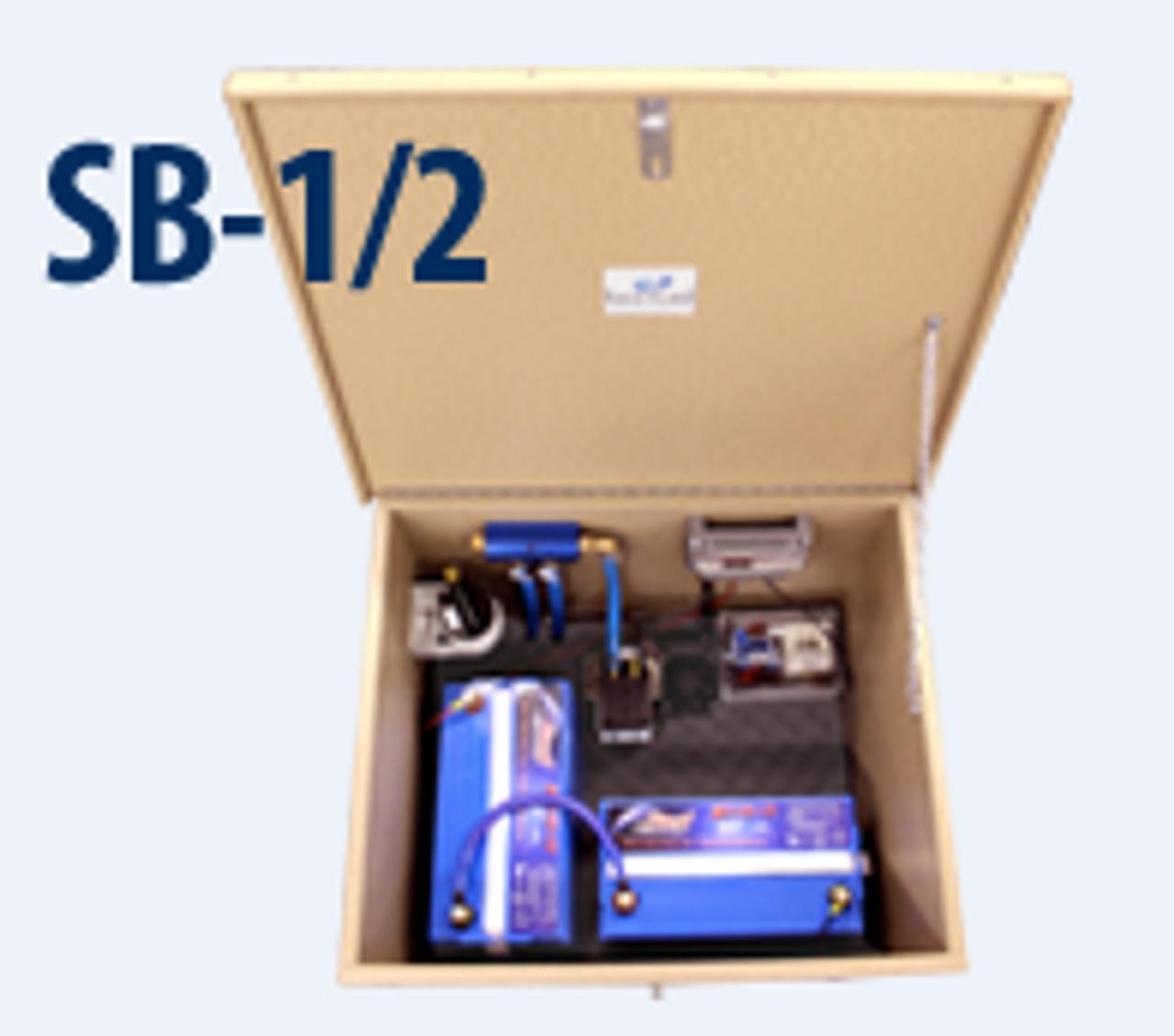 Keeton Solaer Solar Pond Aerator SB1 and SB2 Inside Cabinet