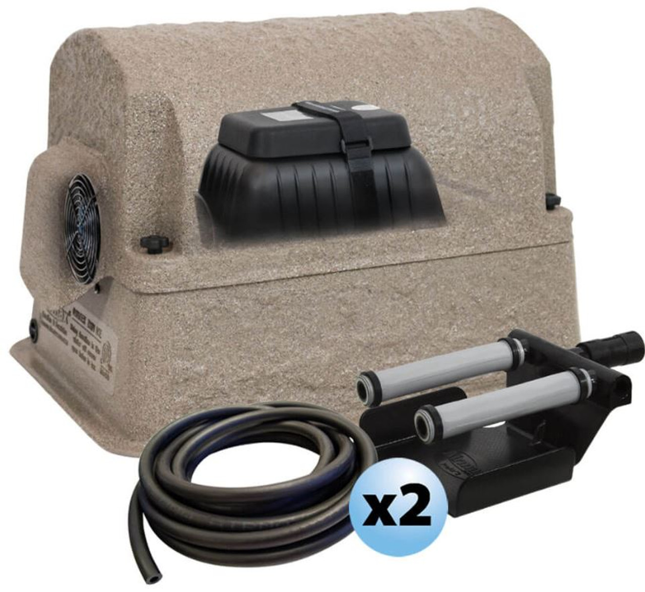 Airmax shallow water series pond aerator, Airmax sw20